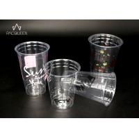 Wholesale PET Disposable Transparent Plastic Cup , Clear Disposable Cups from china suppliers