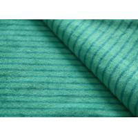 China Eco - Friendly Printted Striped Minky Fabric Flame Retardant Farland on sale