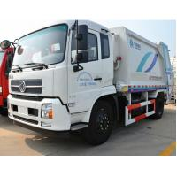 Buy cheap Dongfeng Garbage Compactor Truck Engine Type 4 Stroke Water - Cooled from wholesalers