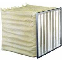 Buy cheap Aluminum alloy Frame Medium Filter Industrial and micron bag filter for housing for air condition system from wholesalers