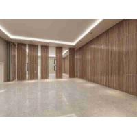 Buy cheap 3D Finish Acoustic Aluminum Frame100MM Thickness Movable Partition Wall product