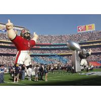 Buy cheap Standing Inflatable Cartoon Characters , Sport Colorful Giant Inflatable Replica from wholesalers