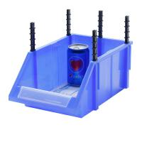 Buy cheap heavy duty large plastic storage bin box for warehouse from wholesalers