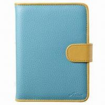 Buy cheap Leather Case for Rakuten KOBO, Comes in Blueberry/Orange, Lollipop Series from wholesalers