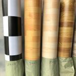 Buy cheap Wood Texture Kitchen Vinyl Flooring Linoleum Floor Covering 1.83m / 2m Regular Width from wholesalers