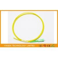 Buy cheap Simplex or Duplex Optical Fiber Pigtail SC / APC  , ODF Fiber Optic Patch Cable 2mm 1M from wholesalers