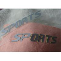 Buy cheap Custom 3D high density silicone heat transfer logos for outdoor garment from wholesalers