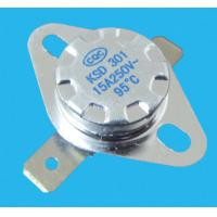 Buy cheap High quality Disc type ksd301 thermostat 16a 250v with TUV,CE from wholesalers