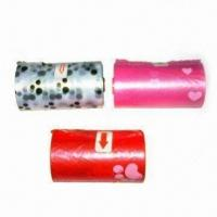 Wholesale Dog Poop Bags with Paw Heart Imprint, Biodegradable, Customer Imprint Acceptable in the Production from china suppliers