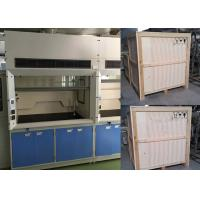 Buy cheap All Steel Structure Benchtop Fume Hood with Ducted CAV Exhaust System from wholesalers