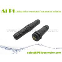 Buy cheap Quick Lock IP68 Waterproof Cable Connector from wholesalers
