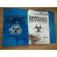 Buy cheap Caution Herbal Incense Packaging k Bags Spice Smoke Bag Accept Custom Own Logo from wholesalers