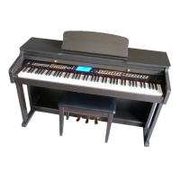 Wholesale 88 notes digital piano Hammer action keyboard Melamine shell W8808 from china suppliers
