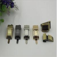 Buy cheap Small design purse metal zinc alloy light gold decorative hardware lock from wholesalers