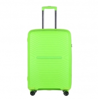 Wholesale 4 Mute Wheels Green ODM PP Luxury Luggage Sets from china suppliers