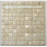 Buy cheap White mother of pearl mosaic from wholesalers