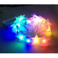 RGBY 10leds star string battery fairy light for garden decoration Manufactures