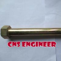 Buy cheap galvanized Bolt M16x175 mm, DIN 931/933, Class 10.9 from wholesalers