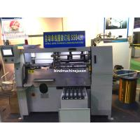 Buy cheap Semi automatic notebook spiral wire binding machine SSB420 with spiral lock from wholesalers