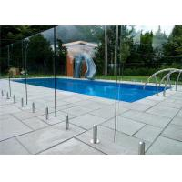 Buy cheap Mirror / Satin Finish Swimming Pool Glass Fence Stainless Steel Spigot Railing from wholesalers