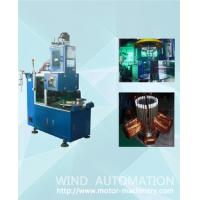 Buy cheap Ventilador Ocilante table fan pump compressor stator automatic coil winding making machine from wholesalers