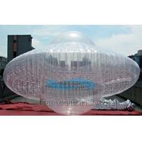 Wholesale Transparent UFO Custom Advertising Balloons , Digital Printing Sky Advertising Balloons from china suppliers