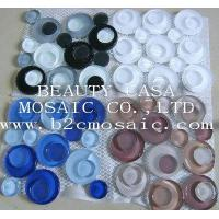 Wholesale Round Glass Mosaic Black and White Color,Frosting Mosaic from china suppliers