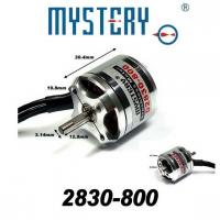Buy cheap Mystery 800kv Outrunner Brushless Motor, RC Helicopter Motor 2830-800 from wholesalers