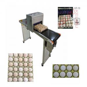 Convenient Transportation Egg Batch Number Printing MachineFor Green Food Logo