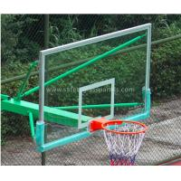 Buy cheap Super Toughened Safety Glass Basketball Backboard Wall Mount For Buildings from wholesalers