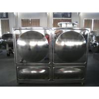 Buy cheap Rectangular Combined Stainless Steel Water Tanks from wholesalers