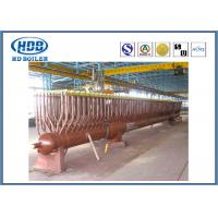 100 Ton Carbon Steel Boiler Spare Parts Boiler Header For Natural Gas Industry Manufactures
