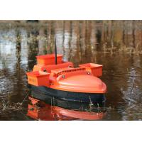 Buy cheap DEVC-202 orange remote control fishing bait boat radio smart brushless motor from wholesalers