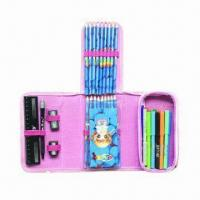 Buy cheap Stationery Pencil Case Set, Includes Color Pencils, Sharpener and Markers from wholesalers