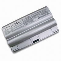 Buy cheap Laptop Battery with 4,800mAh Capacity and 11.1V Voltage, Available in Silver Color from wholesalers