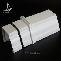 Buy cheap Kenya Roof Gutters Rain Drainages System Plastic Square Downspipe PVC Rain Gutters from wholesalers