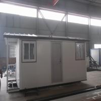 Buy cheap Luxury Prefabricated Light Steel Frame Houses For Labor / Workers Dormitory from wholesalers