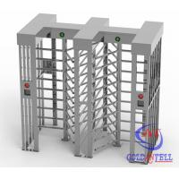 Buy cheap Height 2300mm Stainless Steel High Security turnstile full heightfor Workshop Management from wholesalers