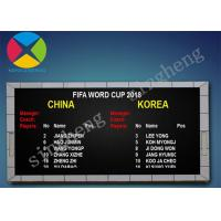 Buy cheap Pixel Pitch 10mm Led Electronic Scoreboard 100000 Hours Long Life Span from wholesalers