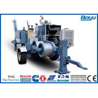 Buy cheap HV Wire Hydraulic Cable Puller Winches 220kv Overhead Power Line Stringing Equipment from wholesalers
