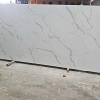 Buy cheap Fish Belly White Snow White Quartz Stone Tiles Slabs High Hardness from wholesalers