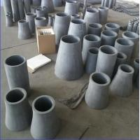 Buy cheap SISIC Silicon Carbide Ceramic Liner / RBSIC Liner Wear Resistance Material from wholesalers