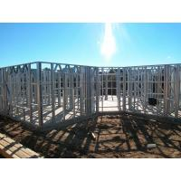 Buy cheap Light Gauge Steel Framing House Structure , Quick Installation Light Steel Frame Housing from wholesalers