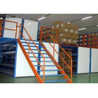 China High Strength Mezzanine Floor Construction , Warehouse Mezzanine Floor on sale