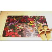 Buy cheap Customized Fabric Rubber Floor Carpet Anti-Slip For Kitchen Room from wholesalers