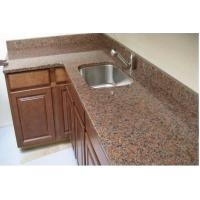 Buy cheap Natural Red Granite Kitchen Countertop Good Compressive Strength For Home from wholesalers