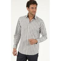Buy cheap Men's Casual Shirts » Men's Long Sleeve Cotton Oxford Check Casual Shirts from wholesalers