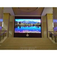 Wholesale P4 HD 800 Nits Brightness Indoor LED Video Wall 14-16 Bits For Advertising from china suppliers