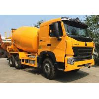 Buy cheap SINOTRUK HOWO A7 6x4 9m3 Concrete Construction Equipment With 59% Stuffing Volume product