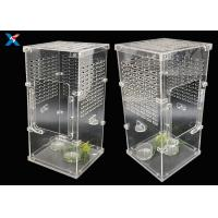 Buy cheap Transparent Acrylic Modern Furniture Pet Breeding Box Plexiglass Reptile Cages from wholesalers